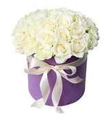Цветы в коробке 30005